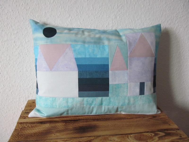 Kissen Paul Klee - 3 Häuser