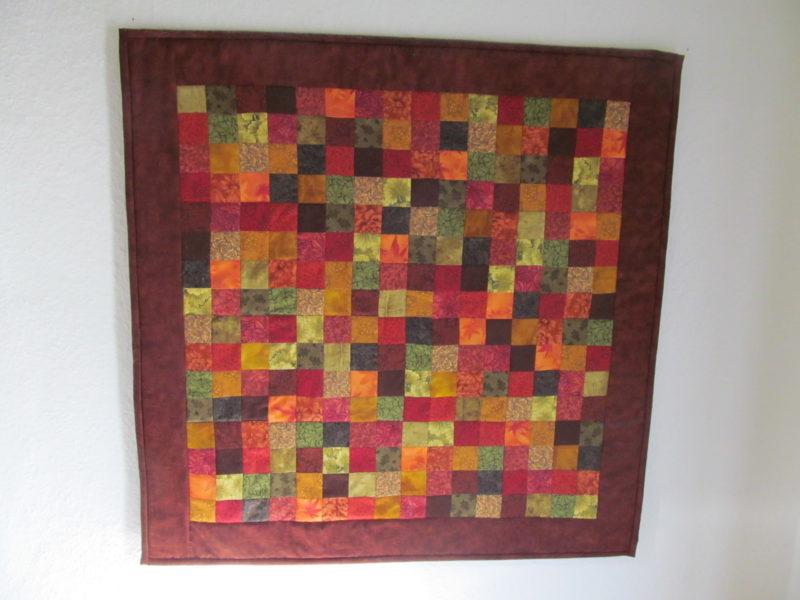 Wandbehang Quadrate